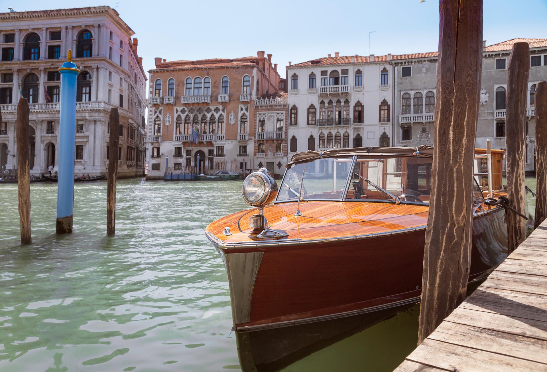 Aman Venice, Italy - Canal Boat