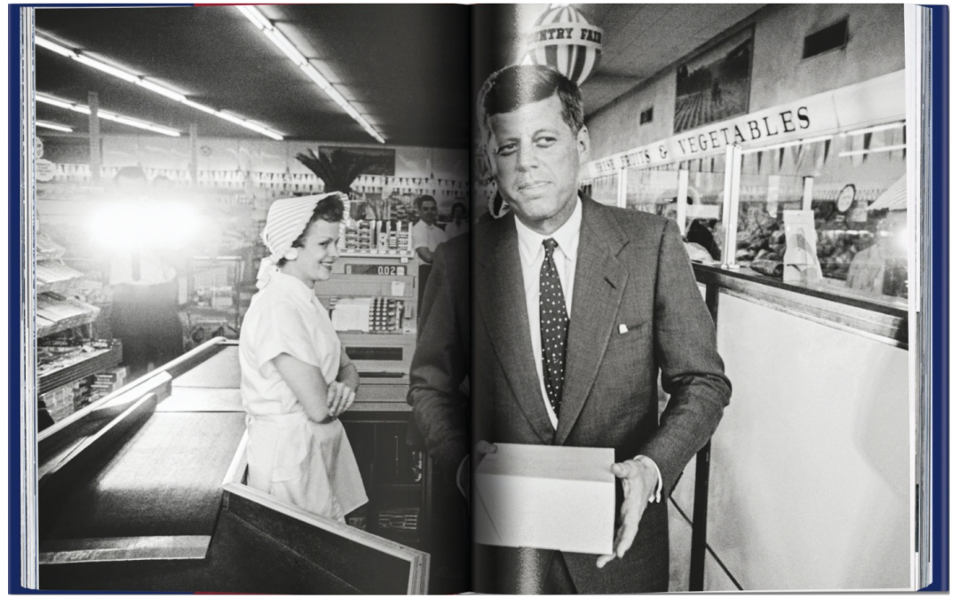 """Collector's Item: JFK """"Superman comes to the Supermarket."""" Taschen"""